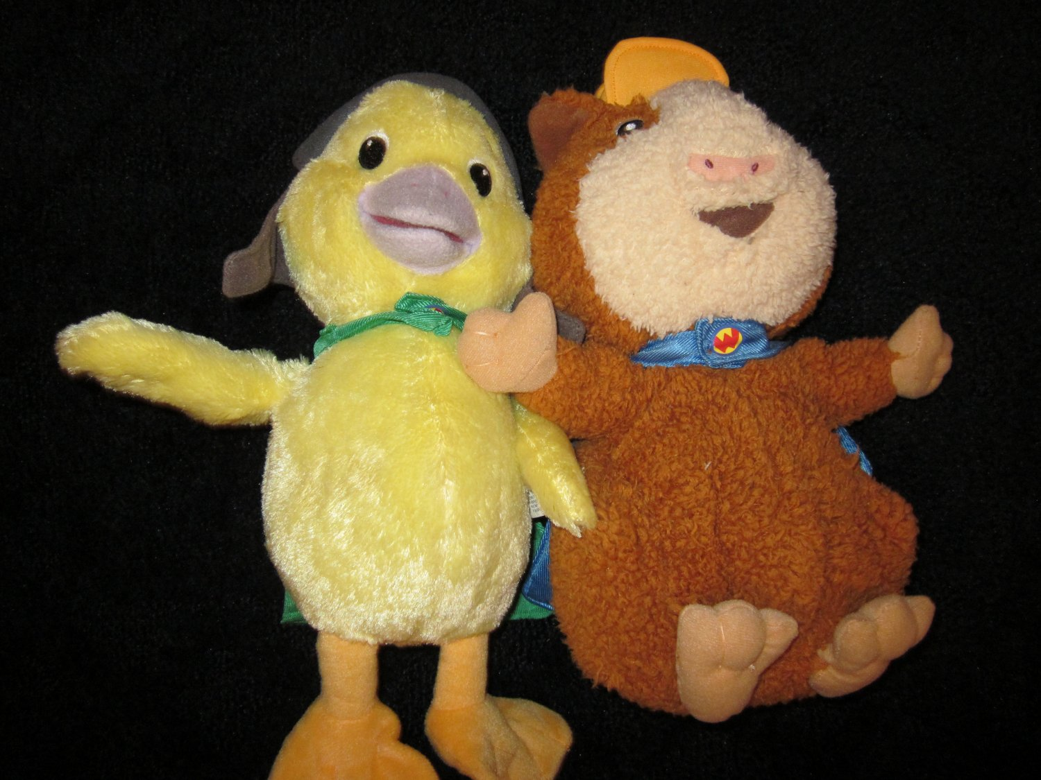 2008 Fisher Price Linny And Ming Ming From Wonder Pets
