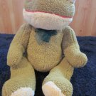 Goffa Plush Frog Green and yellow Super Soft