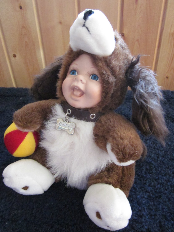 Geppeddo Cuddle Kids Dudley Puppy Dog Plush Doll