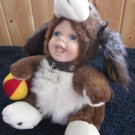 Geppeddo Cuddle Kids Dudley Puppy Dog plush Doll