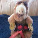 "Vintage Plush Alf Puppet 8"" by Alien Productions 1987  And 4 Elvis Buttons and Garter"