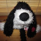 Russ Berrie Black and White Puppy Dog named Floozy