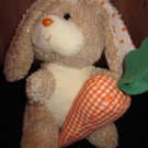 Ty Beanie Buddy Buddies Plush Bunny Rabbit named Nibbler Retired TY