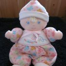 Baby by Carters Plush Pink Doll Mommy's Girl Rattle