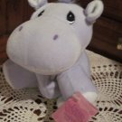 Precious Moments Tender Tails Plush Hippo with tag 1998