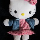 Sanrio 2006 Hello Kitty Plush Doll can be used as a hand puppet