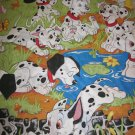Disney 101 Dalmatians  Twin Size Sheet Set Fitted Flat and pillow Case