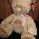 Russ Berrie Cream and Tan Teddy Bear named Taffey #21725