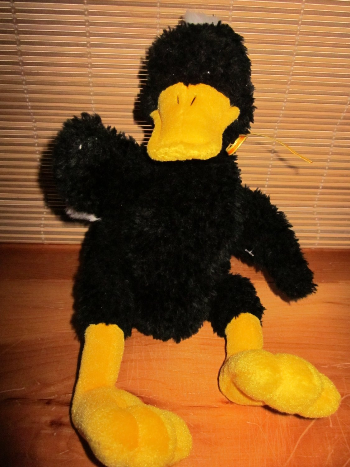 Gund Plush Black Duck Named Dunkln 5261