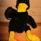 Gund Plush Black Duck named Dunkln #5261