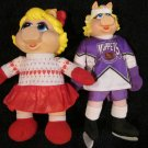 Two Miss Piggy Dolls from The Muppets and 1994 McDonalds