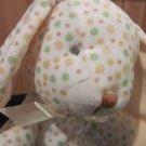 Stephan Baby Polka Dot Plush Bunny Rabbit  Floppy Style