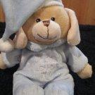 DanDee Collectors choice tan puppy Dog in blue Pj's Jesus Loves Me 2009