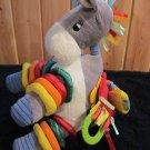 Jelly Kitten Plush Horse Plush Activity Toy