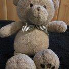 Oshkosh B'gosh Tan Teddy Bear Plush Rattle