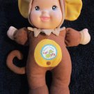Goldberger Sing & Learn Doll dressed as a Monkey ABC