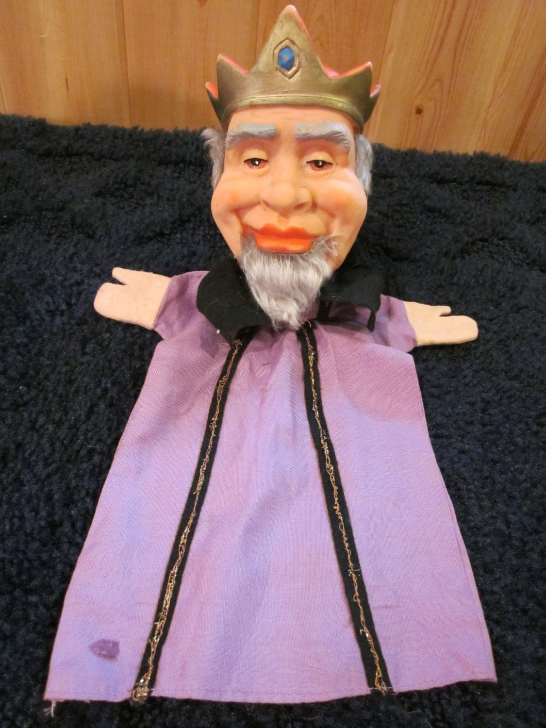 Vintage Hand Puppet  King  Made in Germany