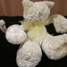 "Homespun 6"" Chenille Plush Cat with posable arms legs tail"