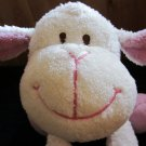 Lil Sweetez Soft Cuddly White Lamb with lavender accents