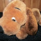 Vintage 1975 Dakin Drooper Puppy Dog Plush Brown