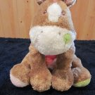 Mary Meyer Cheery Cheeks Plush Horse  Floppy Colorful Cuddly Brown