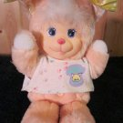 Vintage Magic Nursery Kitty Plush 1990 Peach Doll
