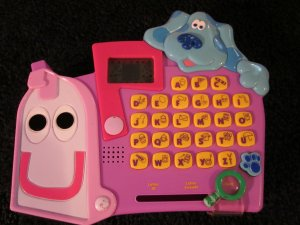 mailbox blues clues toy. Plain Toy Mattel Blues Clues Talking Mailbox Electronic Identifying Letters Sounds  And Search Game To Toy J