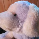 Russ Berrie Plush Dog named Tutti Fruity Soft with rattle inside #21747