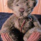 First & Main Plush Brown Sitting Bear named Minky