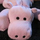 Ty Pillow Pal Plush Hippo named Tubby Baby Safe 1996 retired