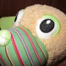 Manhattan Toy Co Plush Puppy Dog tan with striped legs and nose