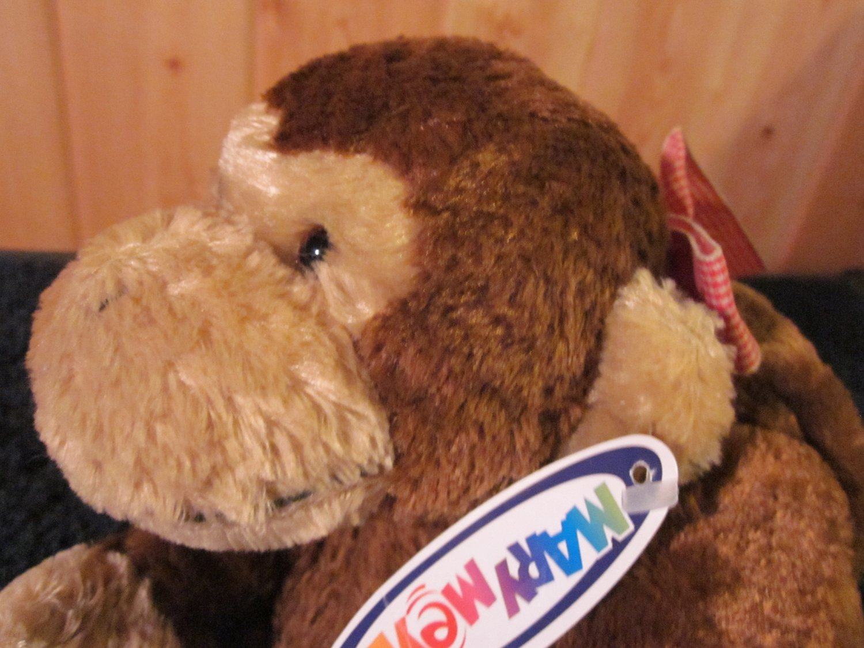 Mary Meyer Flip Flops Brown Plush Monkey