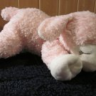 Pink Plush Lamb with collar God Bless Baby Target