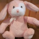 baby Gund pink puppy Dog Musical crib pull toy Named Pinkee #58023
