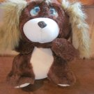1989 Lewis Galoob  Lost 'N Founds Plush Dog