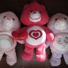 Care Bears Lot of 3 All my heart bear and two Care Bear Babys