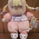 New Garanimals  Blonde Doll My Best Friend Plush rattle  panda slippers