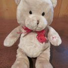Carters Just one Year Plush Talking Tan Bear says I love You