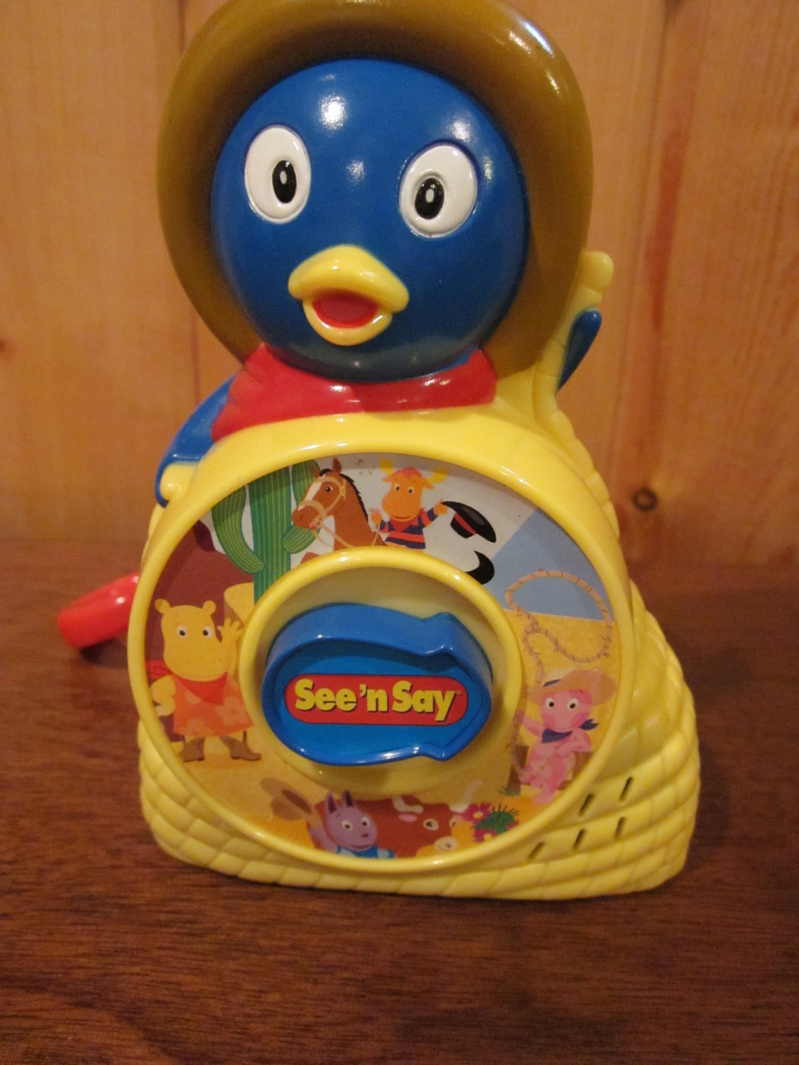 see  u0026 39 n say junior pablo from the backyardigans w  clip