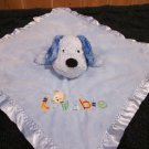 Child of Mine Carters Blue puppy dog Security Blanket Lovable
