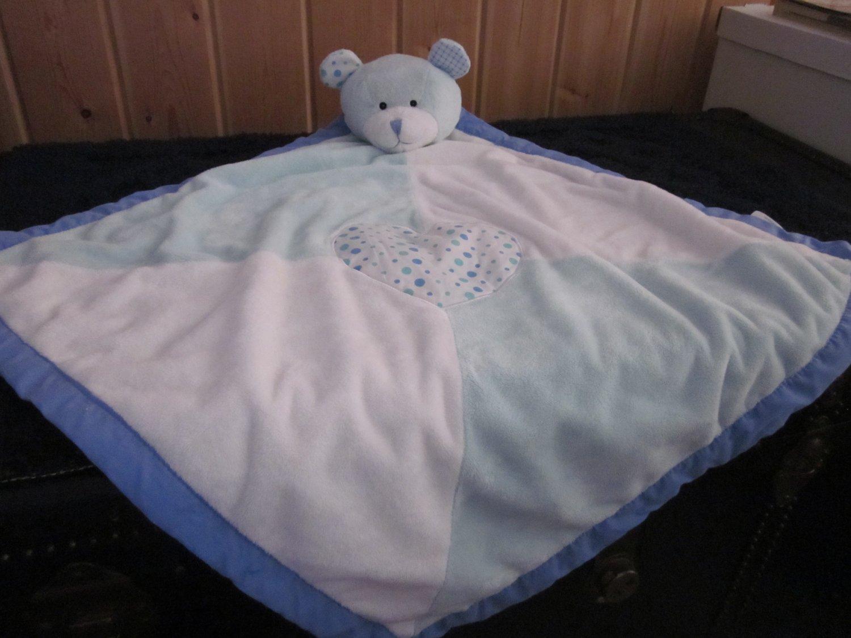 Ganz Baby Bear Blanket Blue Lovey security blanket