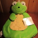 Baby Gear Plush Green Frog Security Blanket new with tags