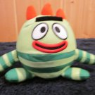 Yo Gabba Gabba Plush Bouncing jiggling talking Brobee