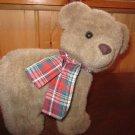 Applause Plush  Nostalgic Bear on Wheels 51127