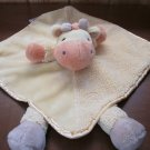 Carters Yellow Giraffe Security Blanket with feet plush rattle
