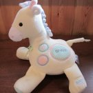 Eden Plush Yellow Giraffe with thermal pastel spots
