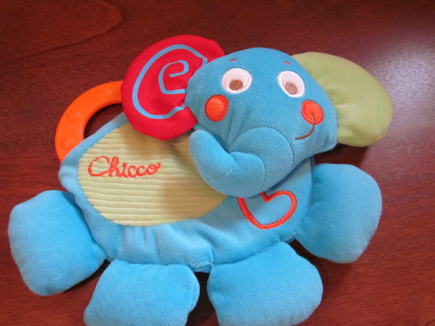 Chicco Blue Elephant activity toy Teether
