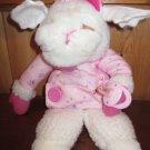 "12"" Baby Lamb Chop 1990 Shari Lewis Target  Plush Lamb with Pacifier"