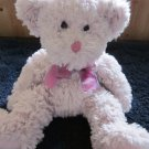 Russ Berrie Teddy Bear named Dusty Rose 11""
