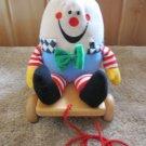 Eden Humpty Dumpty Pull & Push Toy